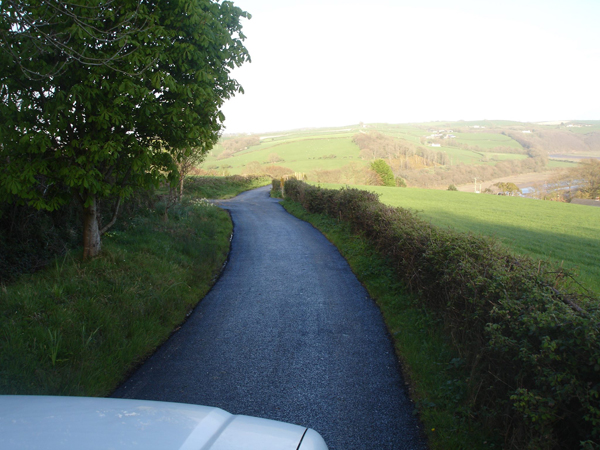 Farm Lane After Resurfacing