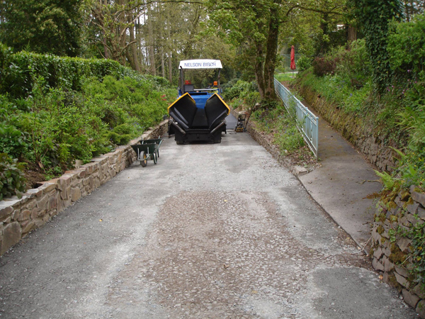 Machine Laid Tarmacadam