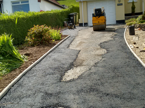 Driveway in need of repair